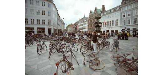 Copenhagen e le biciclette
