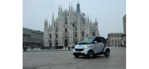 car sharing a Milano