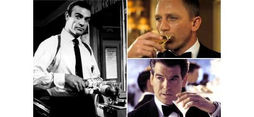 James Bond e l'alcol