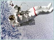attività fisica nello spazio