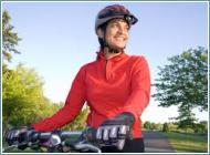 Caschetto per la bici