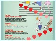 """La locandina della campagna """"Le scale, musica per la tua salute"""""""