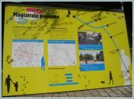 Lo schema del piano pedonale di Strasburgo